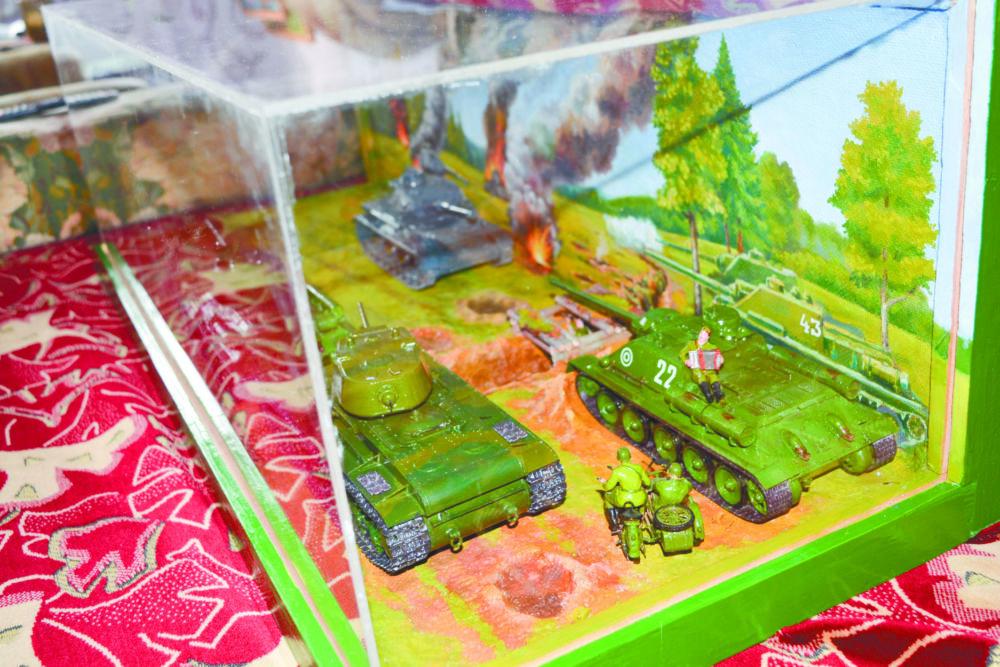 Мир мирных танков
