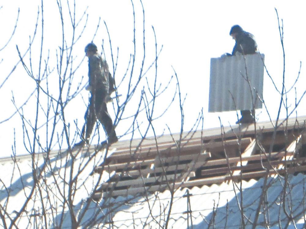 Расходы на ремонт - Ремонт крыши на улице Димитрова, 8 в Биробиджане