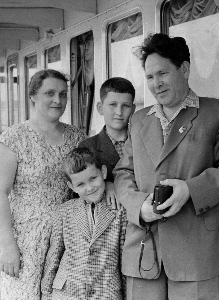 Не совет да не любовь - Семья Мустафиных. 1962 год