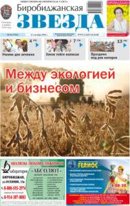 Биробиджанская Звезда - 36(17532) 12.09.2018