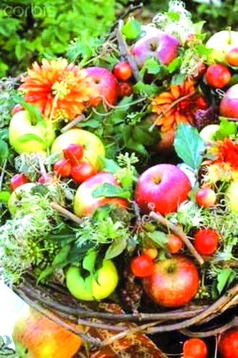 Красочный сентябрь:время пирогов и чая