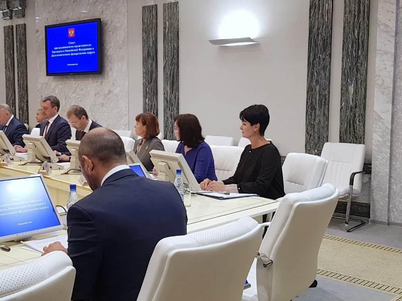 На заседании Совета при полномочном представителе Президента РФ в ДФО обсудили строительство  на Дальнем Востоке социальных объектов