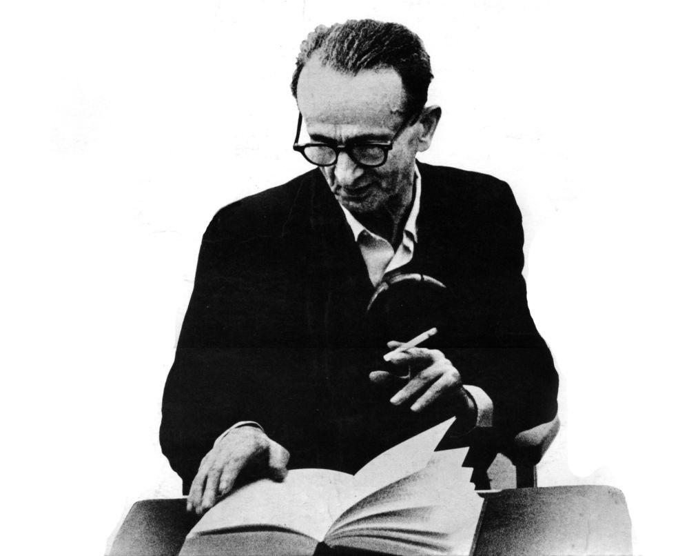 Еврейский поэт Ицик Мангер  (1901–1969)