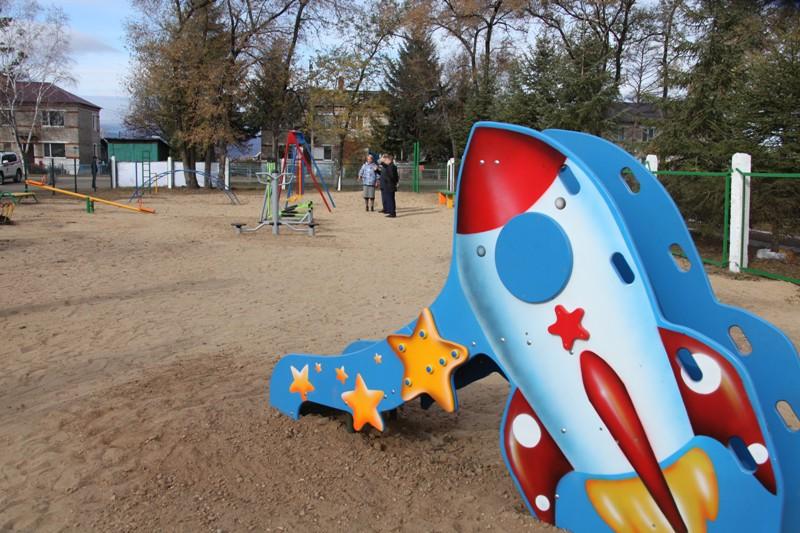 Детская площадка  откроется в Найфельде