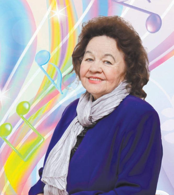 Валентина Лежнина: нужно улыбаться и дарить людям счастье