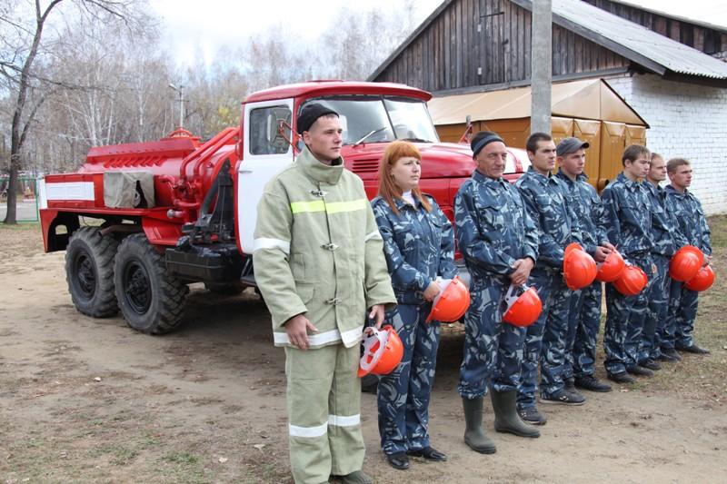 В Найфельде открылся пост Добровольной пожарной охраны