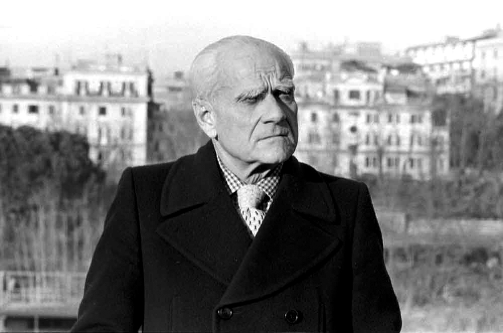 Итальянский писатель Альберто Моравиа (1907 – 1990)