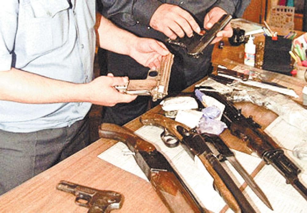 Вооружение и правонарушения