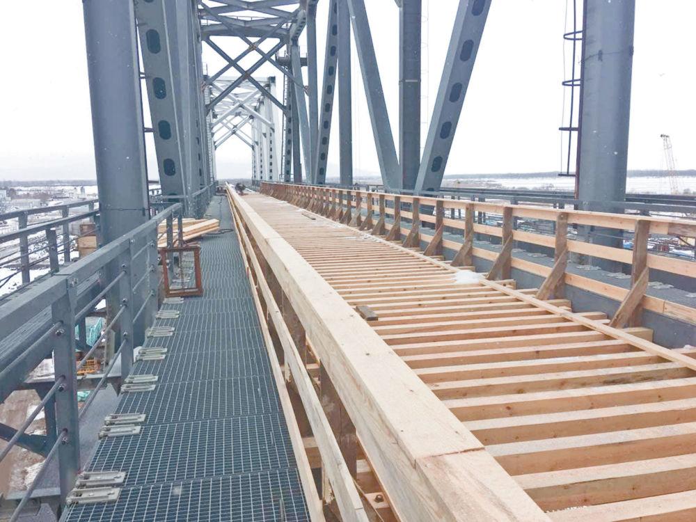 Мост не «замёрзнет» в декабре