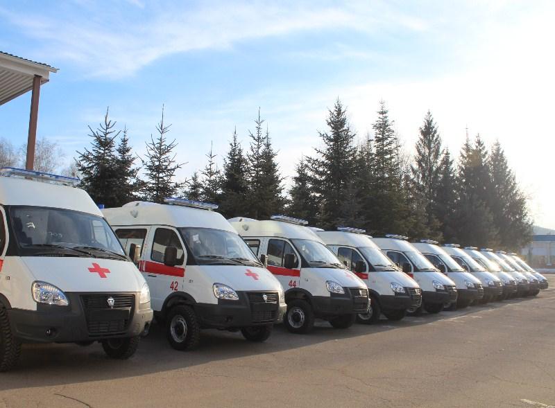 В ЕАО поступили 11 новых автомобилей скорой помощи