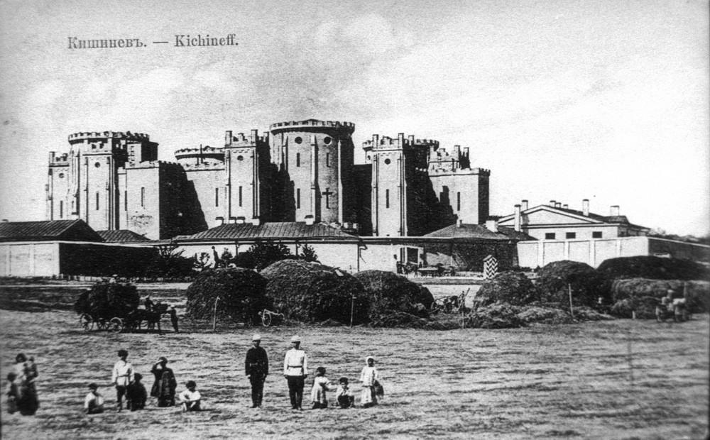 Долгий путь к ойлэм-haбэ - Тюремный замок Кишинева