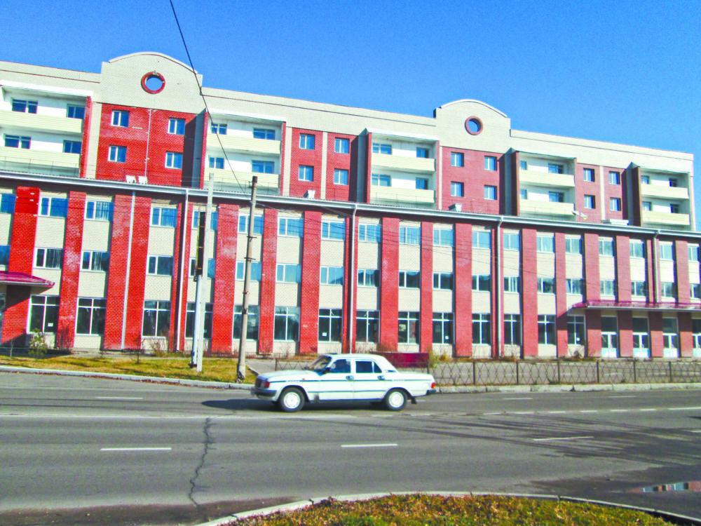Рисковое дело -  Дом № 9 по проспекту 60-летия СССР.