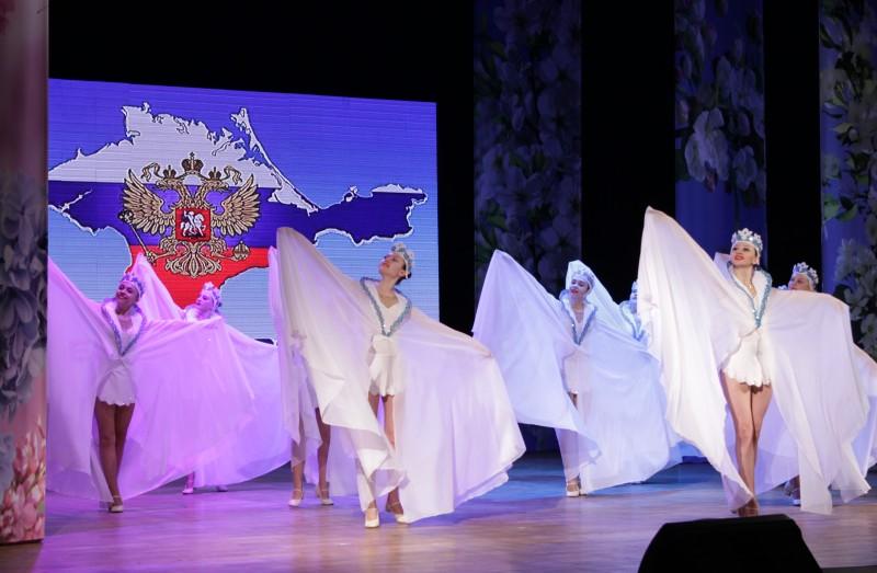 В Биробиджане отметили пятую годовщину воссоединения России и Крыма