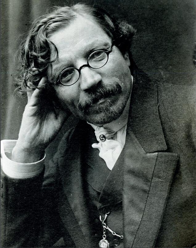 Еврейский писатель Шолом-Алейхем  (1859 –1916)