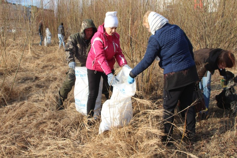 Цель акции – воспитание экологической культуры