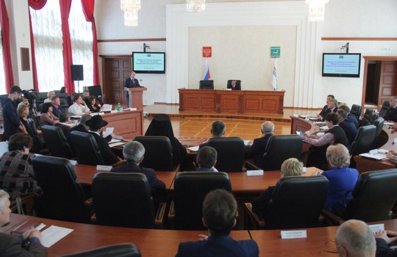 Состоялось первое пленарное заседание Общественной палаты ЕАО