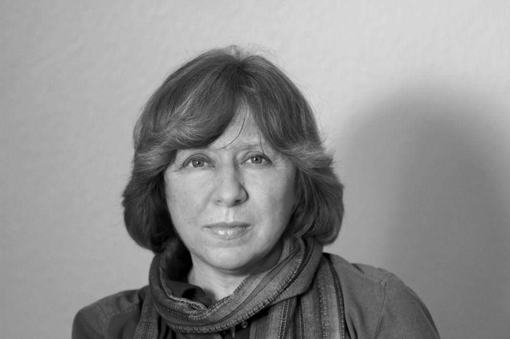 Советская писательница Светлана Алексиевич (1948)