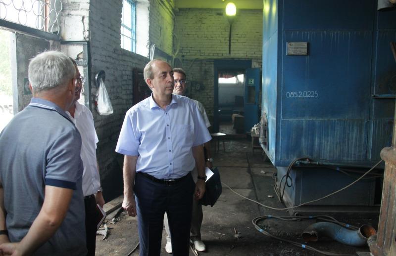 Губернатор ЕАО побывал в Биробиджанском районе
