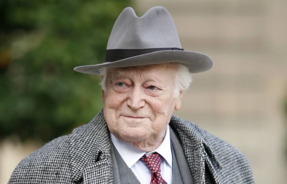 Французский писатель Морис Дрюон  (1918 – 2009)
