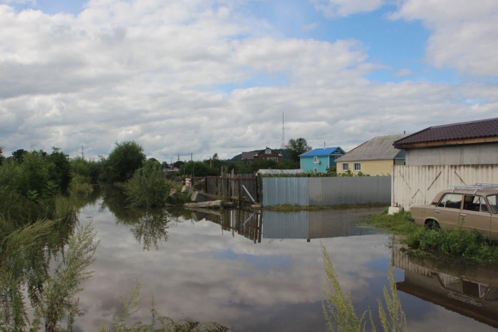 Ущерб от водной стихии оплатят