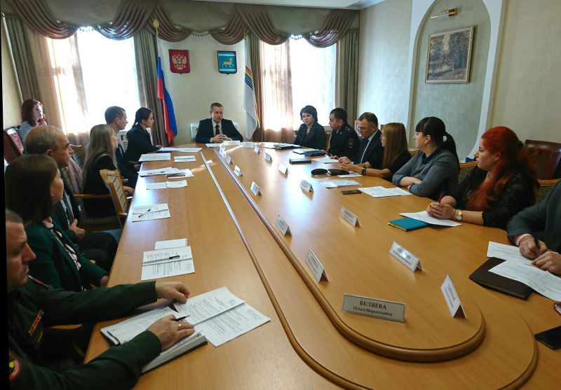 Вопрос воспитания патриотизма граждан ЕАО обсудили на совете в правительстве области