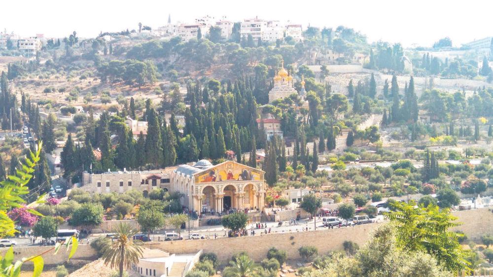 Рождественское путешествие - Храмы Елеонской горы - наши дни